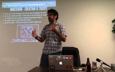 Ray Camden presents HTML5 Storage
