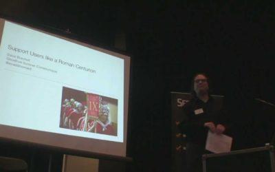 David Burchell – Support Users Like a Roman Centurion – Barcamp Omaha
