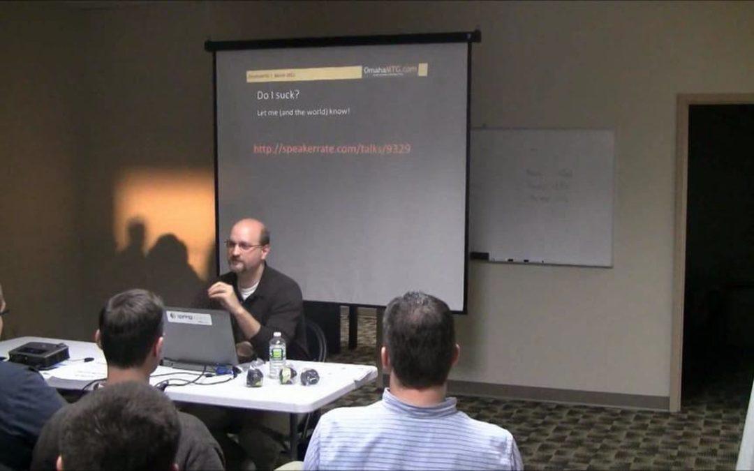 Stephen Bohlen presents on Unit Testing