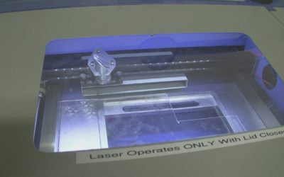Laser Cutter intro at the Omaha Maker Group