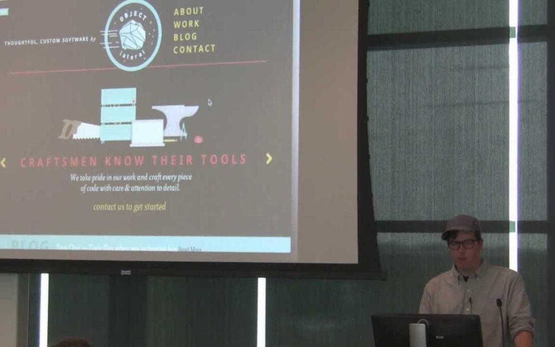Cody Peterson at NebraskaJS – Web Animation