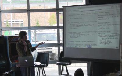 Alec Larsen at Barcamp Omaha 2013 – SignedHash.js