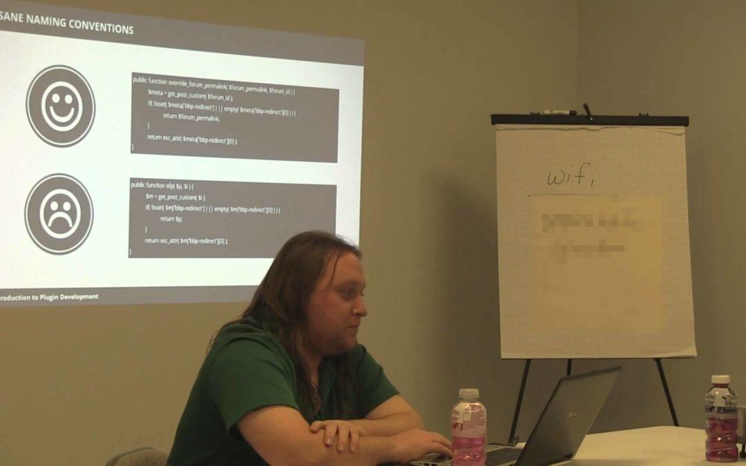 Omaha WordPress – Writing a Plugin