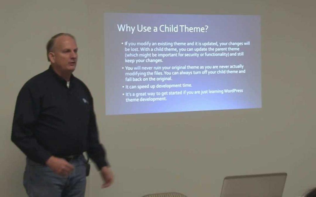 Omaha WordPress – Parent and Child Themes