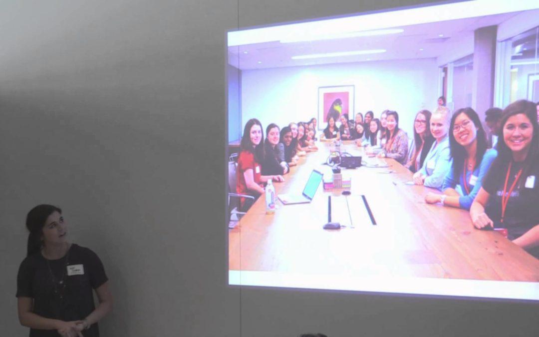Kat Slump talks about Code Camp