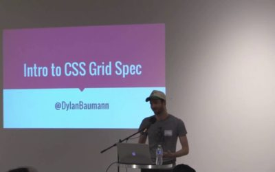 Dylan Baumann at BarCamp Omaha – Intro to CSS Grid