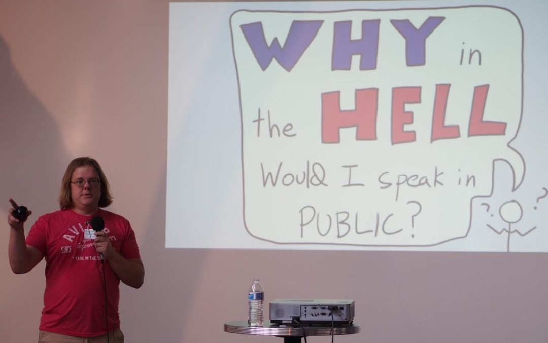 Arthur Doler – Why the HELL Would I Speak in Public?